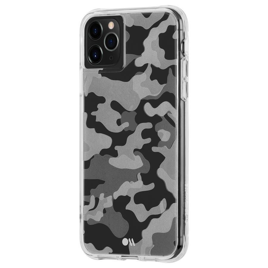 【クリア柄の迷彩柄ケース】iPhone 11 ProMax Tough Clearly Camo 6