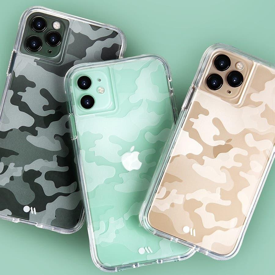 【クリア柄の迷彩柄ケース】iPhone 11 ProMax Tough Clearly Camo 9