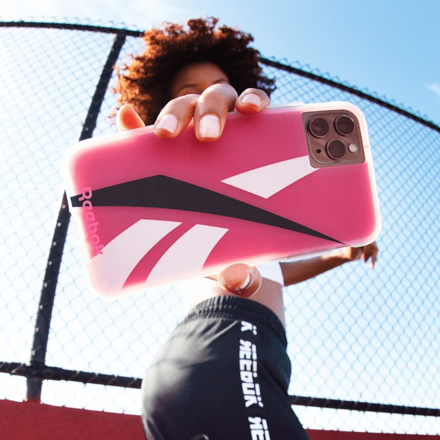 Reebok x Case-Mate Oversized Vector 2020 Pink for iPhone 11 Pro Max/ XS Max 1