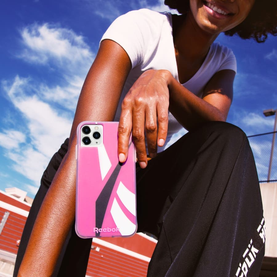 Reebok x Case-Mate Oversized Vector 2020 Pink for iPhone 11 Pro Max/ XS Max 10