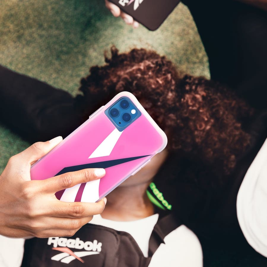 Reebok x Case-Mate Oversized Vector 2020 Pink for iPhone 11 Pro Max/ XS Max 6