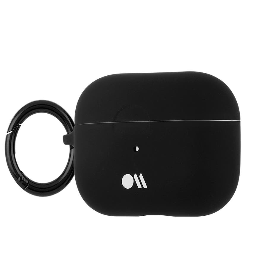 【AirPods Pro ケース・ワイヤレス充電OK】 AirPods Pro Case Black w/Black CircularRing 5