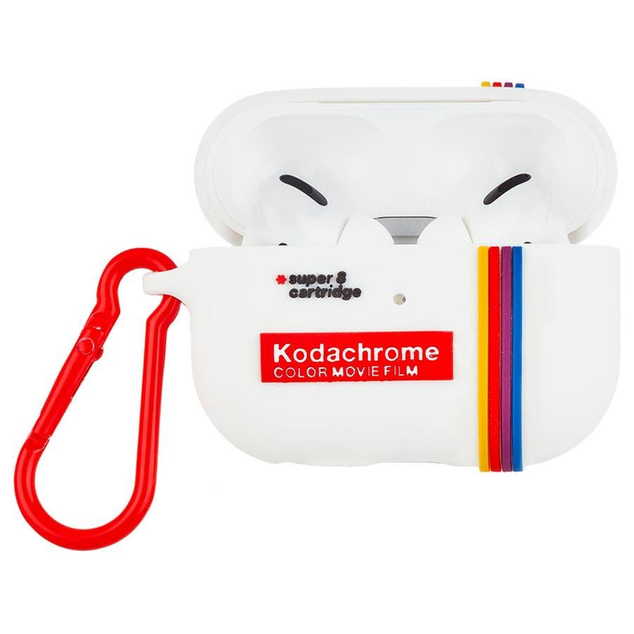 【コラボ・ワイヤレス充電OK】 AirPods Pro Kodak White 4