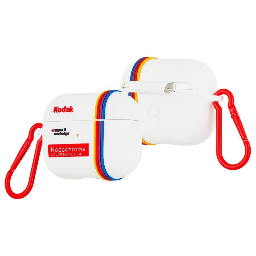 【コラボ・ワイヤレス充電OK】 AirPods Pro Kodak White 5