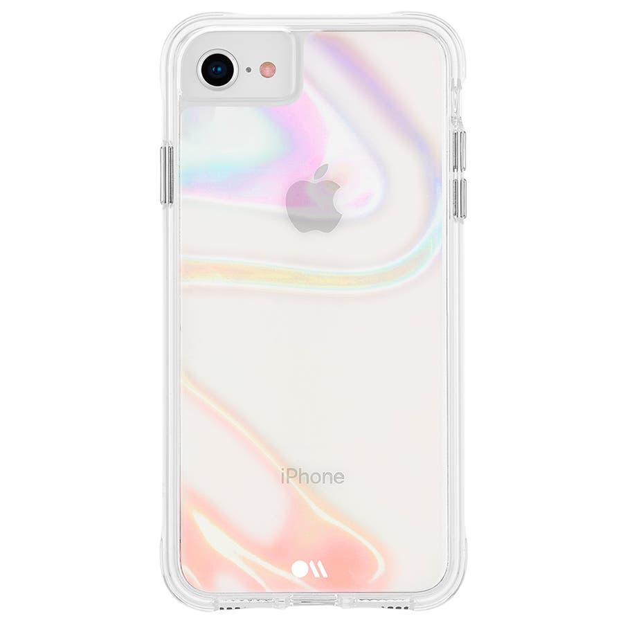 【iPhoneSE(第2世代)/8/7/6s/6対応 シャボン玉をイメージ】 Soap Bubble 2