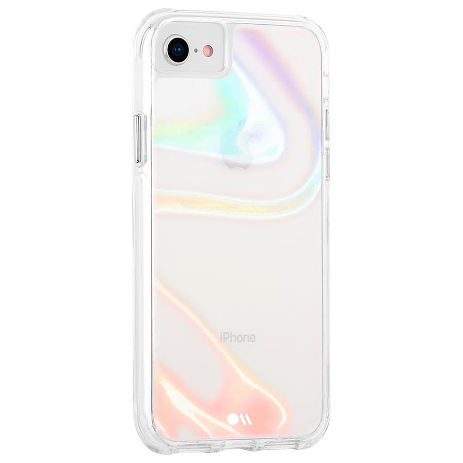 【iPhoneSE(第2世代)/8/7/6s/6対応 シャボン玉をイメージ】 Soap Bubble 3
