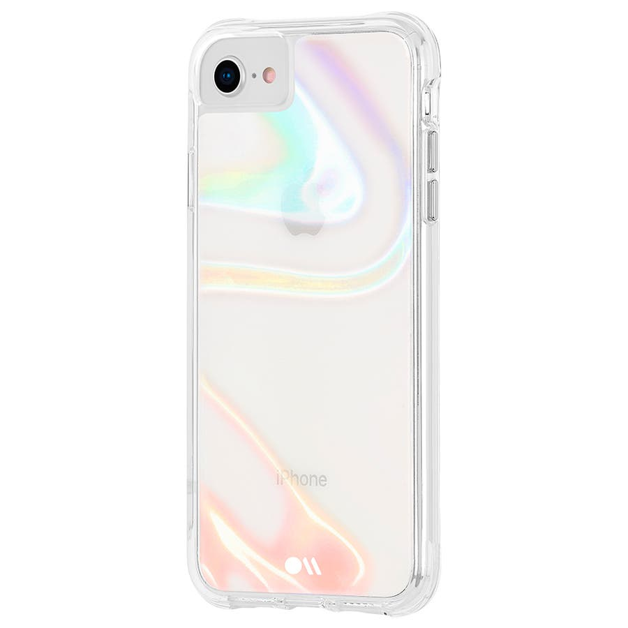【iPhoneSE(第2世代)/8/7/6s/6対応 シャボン玉をイメージ】 Soap Bubble 4