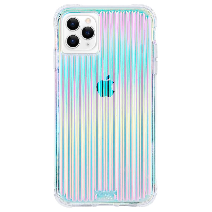 【キラキラと光るイリデセントカラー・握り心地◎】iPhone 11 Pro Case Tough Groove -Iridescent 1