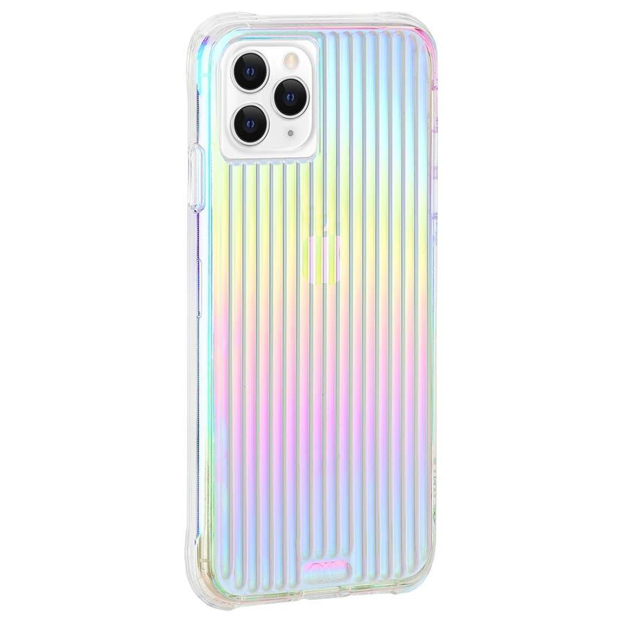 【キラキラと光るイリデセントカラー・握り心地◎】iPhone 11 Pro Case Tough Groove -Iridescent 2