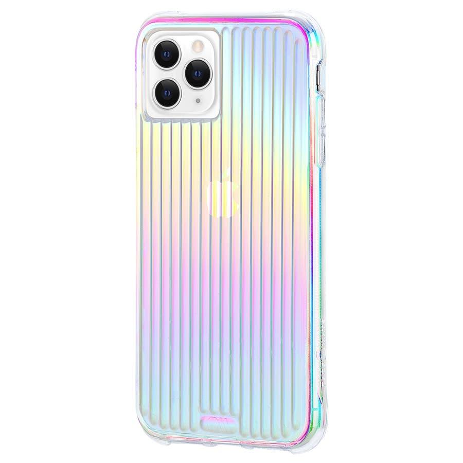 【キラキラと光るイリデセントカラー・握り心地◎】iPhone 11 Pro Case Tough Groove -Iridescent 3