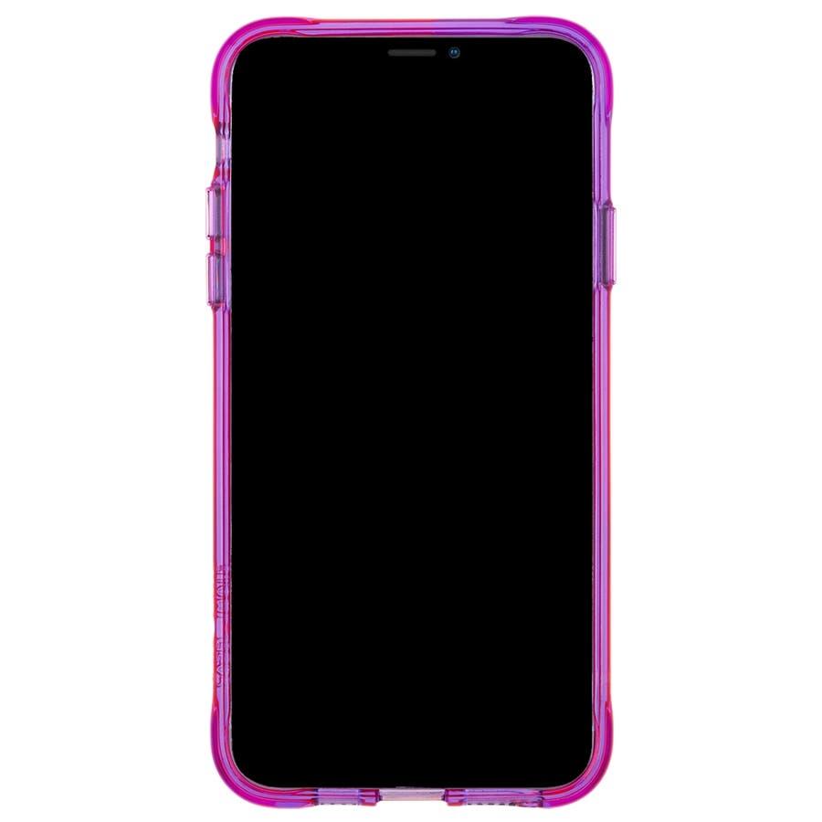 【ワールドワイドで大人気のネオンカラー】iPhone 11 Pro Case Tough NEON - Pink/Purple 5