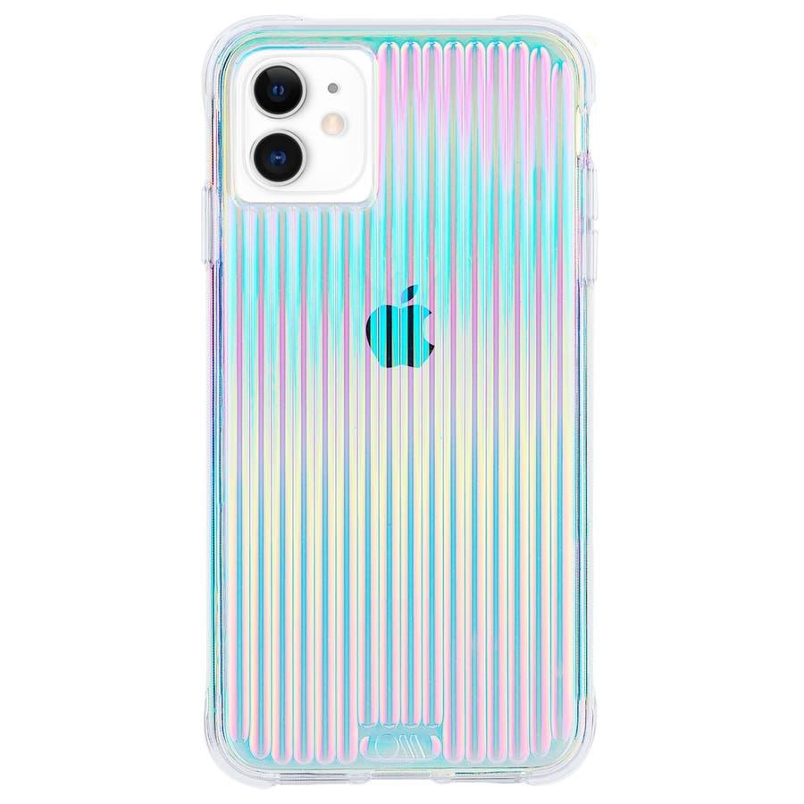 【キラキラと光るイリデセントカラー・握り心地◎】iPhone 11 / iPhone XR Case Tough Groove -Iridescent 1