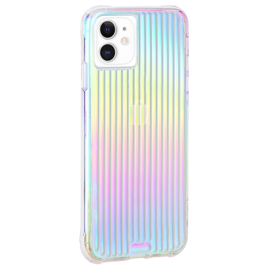 【キラキラと光るイリデセントカラー・握り心地◎】iPhone 11 / iPhone XR Case Tough Groove -Iridescent 2