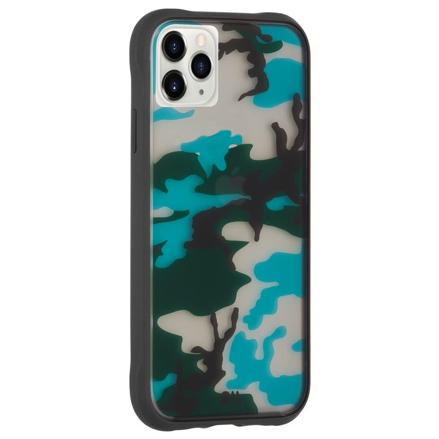 【迷彩柄ケースで周囲に溶け込もう】iPhone 11 Pro Max Case Tough - Camo 2