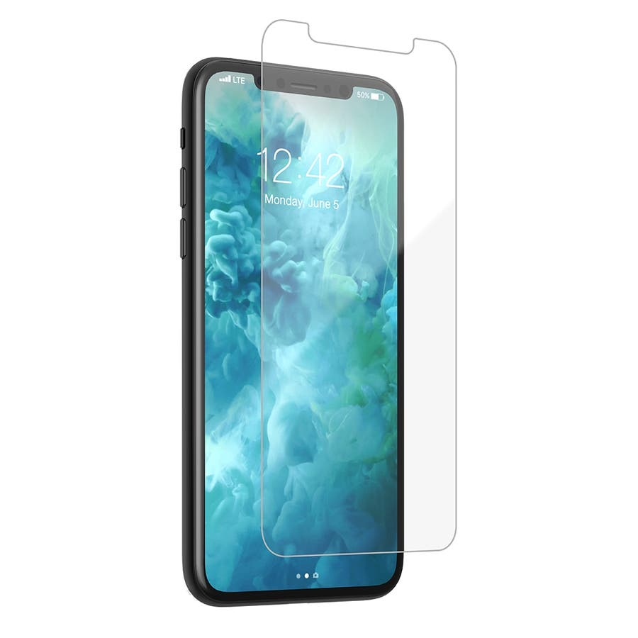 【液晶画面を保護する硬度9Hの強化ガラスフィルム】iPhone 11 Pro Max Case Standard GlassScreen Protector - Clear 1