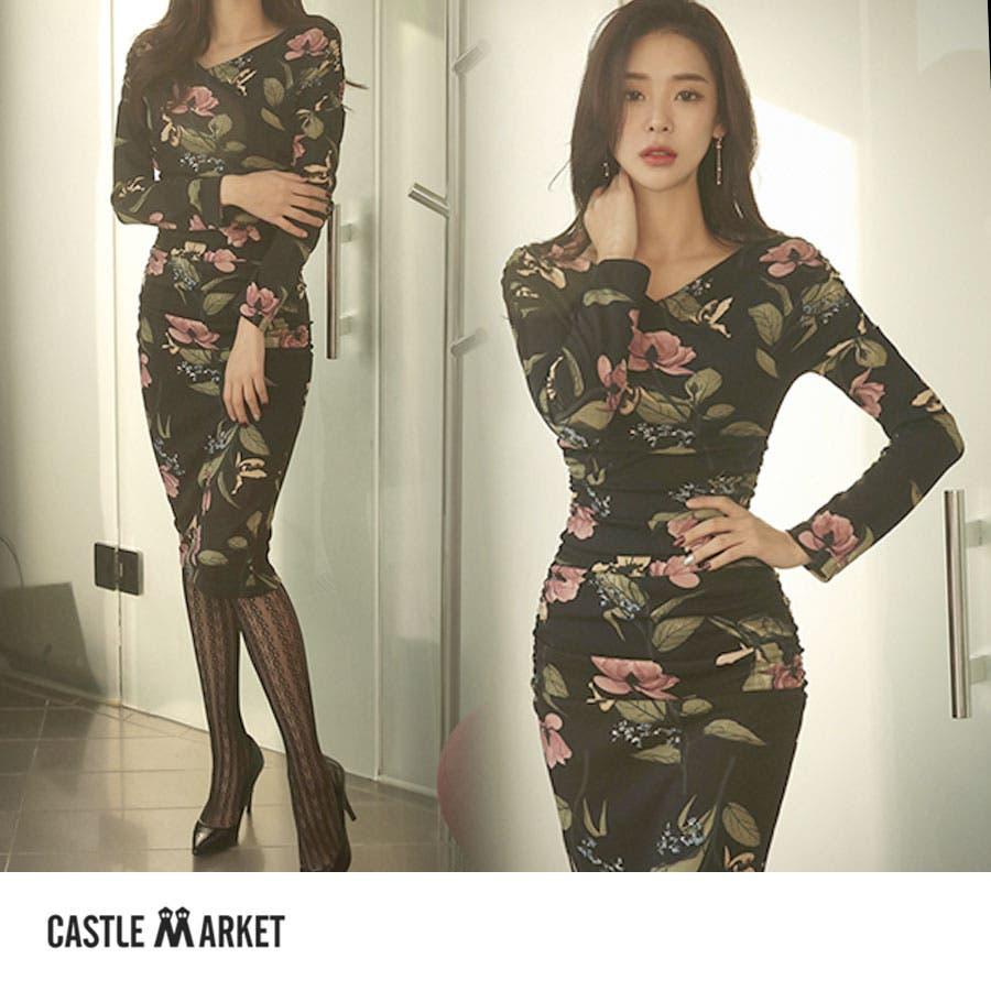 1e9e686e9dbf9 レディースファッション通販ワンピース ドレス 不二子ワンピ 花柄 ...