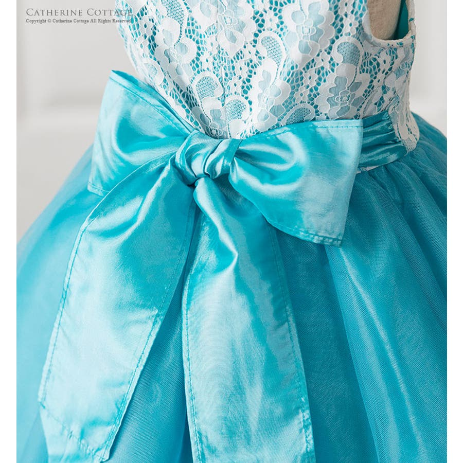 db0026631707b 子供ドレス 透かしレースのノースリーブドレス フォーマル 結婚式 発表会 ...