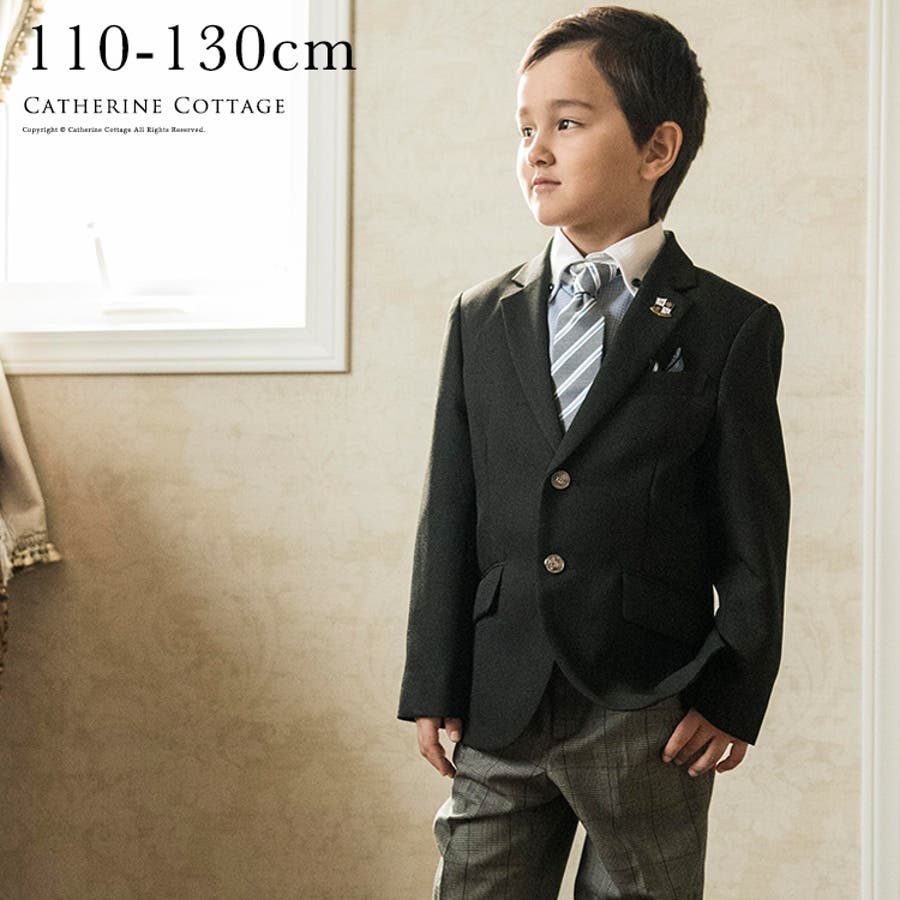 44aec29733731 入学式 卒園式 男の子 ブランド子供スーツ ヒロミチナカノキッズスーツ ...