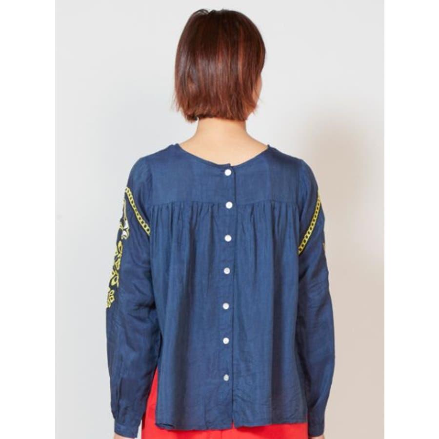 【チャイハネ】yul オリエンタル刺繍ブラウス2WAY 8