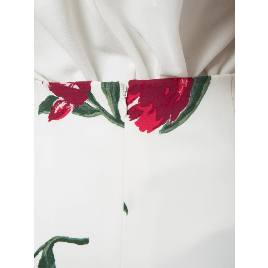 花柄タイトスカート 6