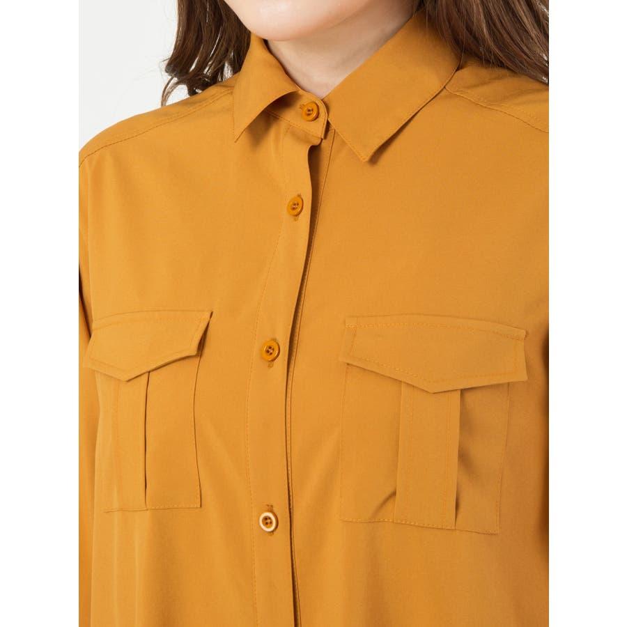 ロングシャツ羽織 5