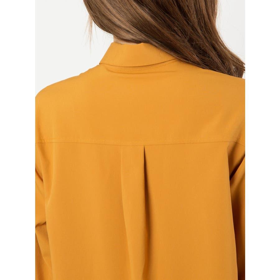 ロングシャツ羽織 6