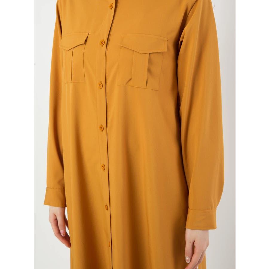 ロングシャツ羽織 7