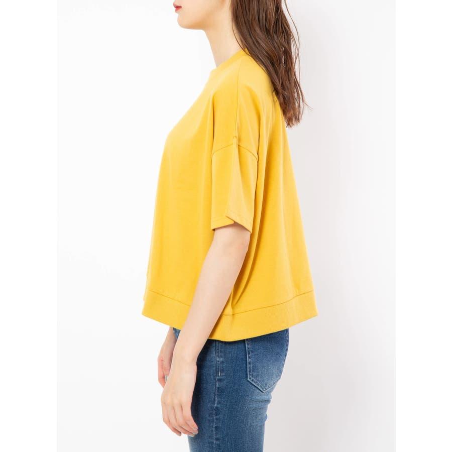 ハイネック刺繍Tシャツ 3