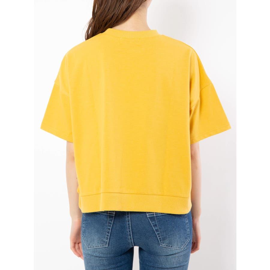 ハイネック刺繍Tシャツ 4