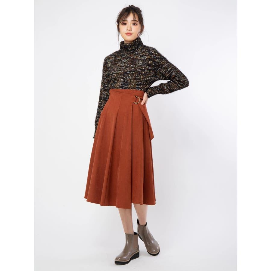 ラップフレアスカート 1
