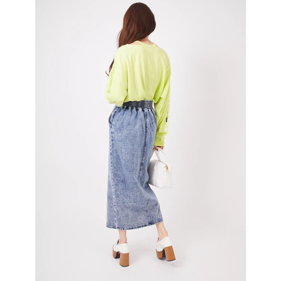 リングバックルタイトスカート 4