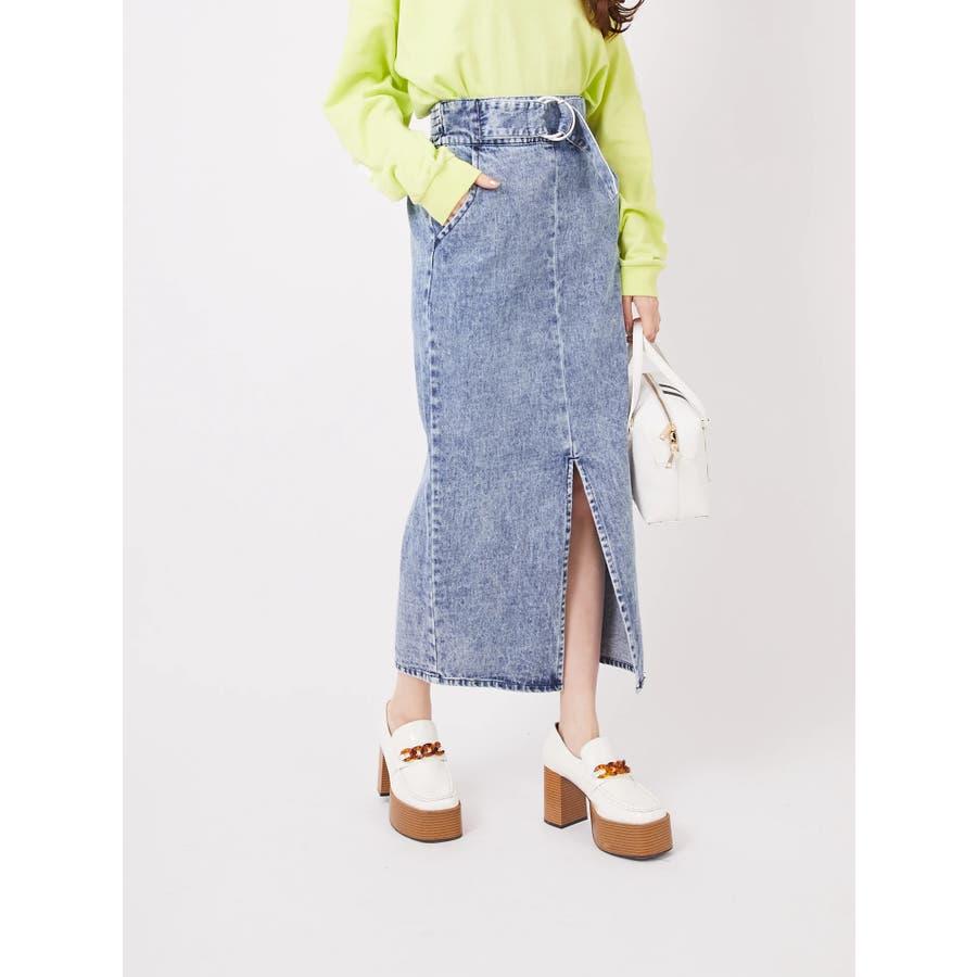 リングバックルタイトスカート 5