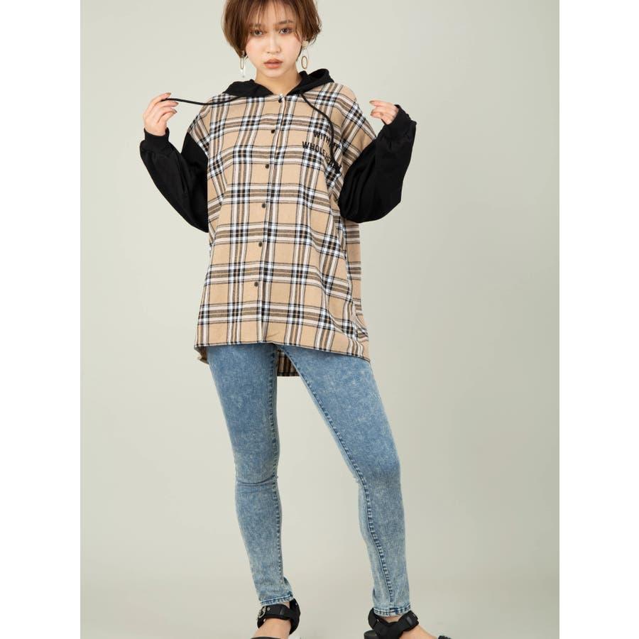 ドッキングシャツパーカー 3