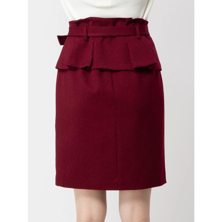 コルセットベルト付き2WAYタイトスカート 4