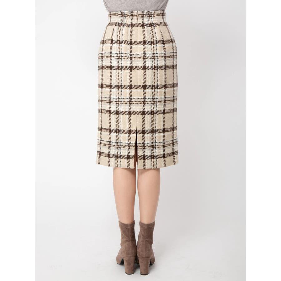 チェックタイトスカート 4