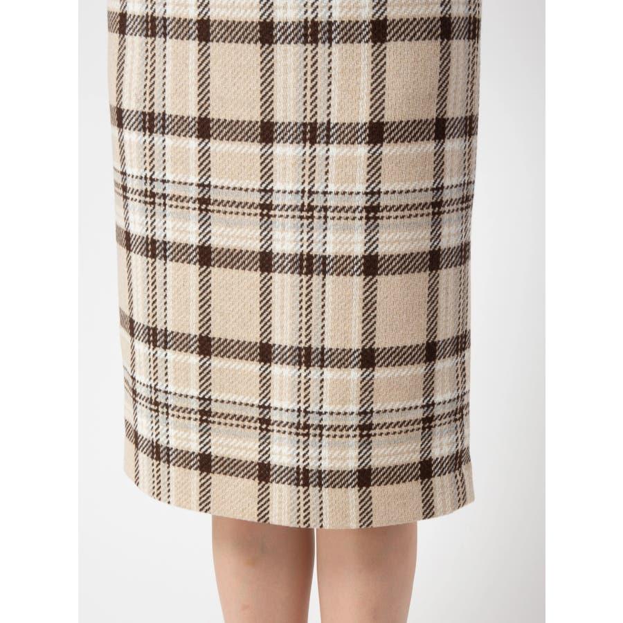 チェックタイトスカート 6