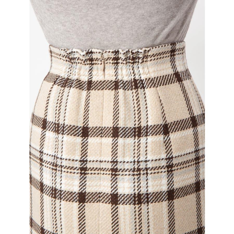 チェックタイトスカート 7