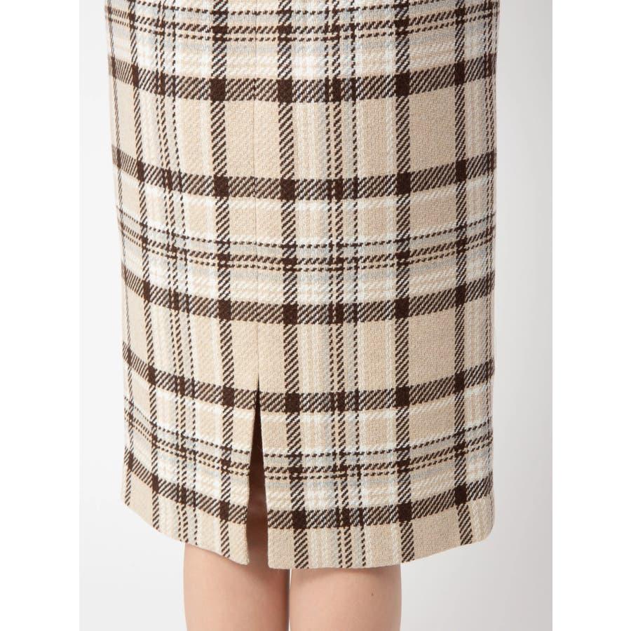 チェックタイトスカート 8