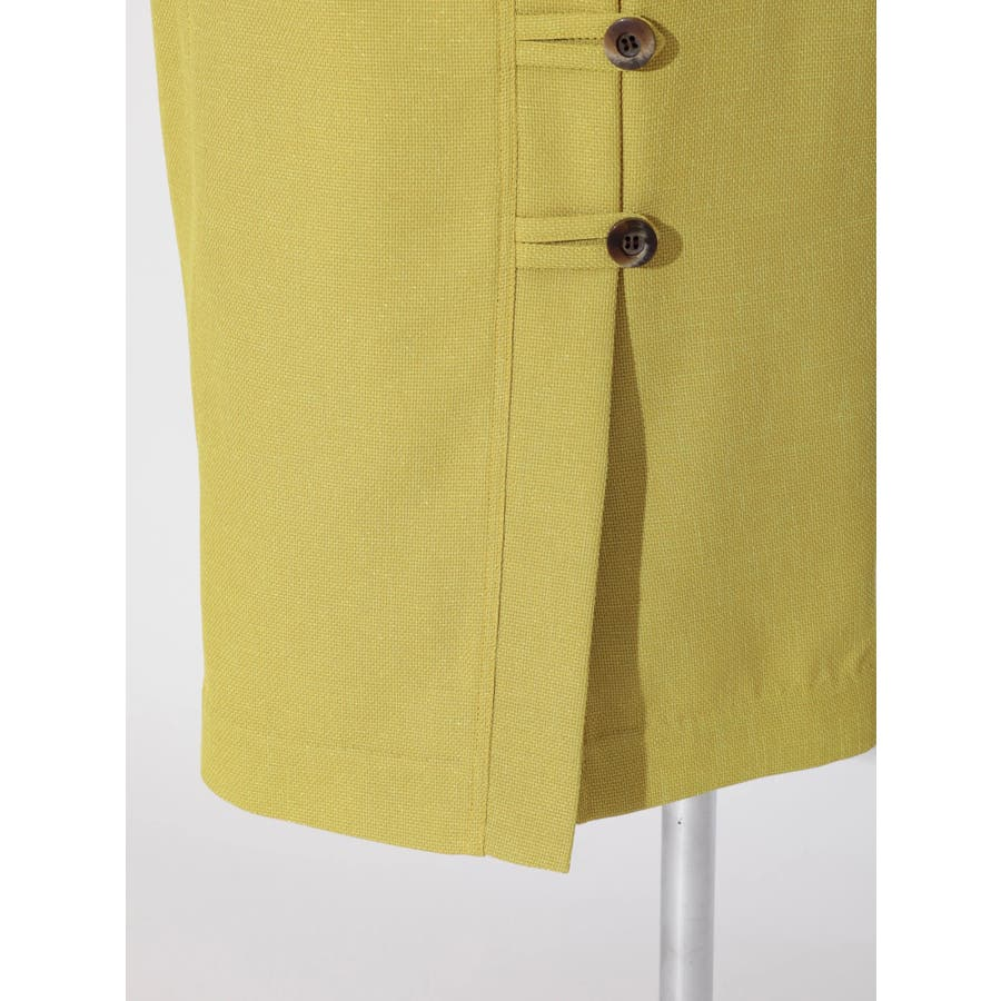 リネンライクデザインタイトスカート 7