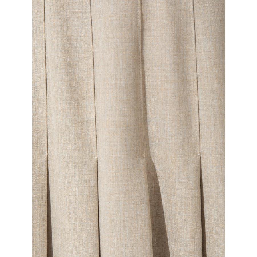 ウールブレンドプリーツスカート 7