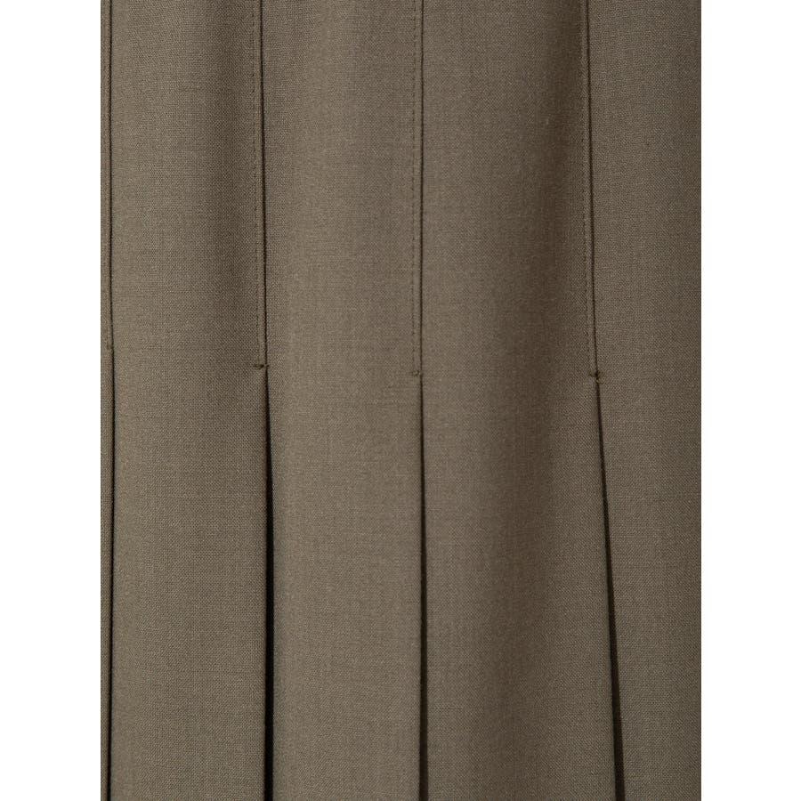 ウールブレンドプリーツスカート 8