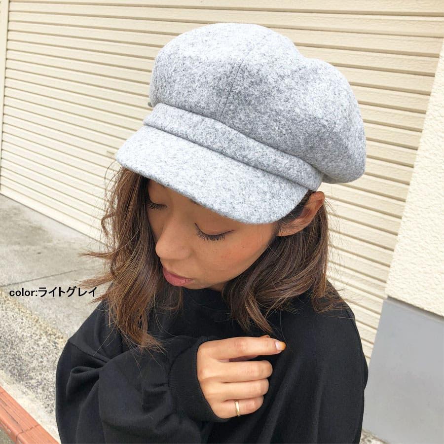 キャスケット 帽子 無地キャスケット グレンチェックキャスケット キャップ ハット シンプル 7