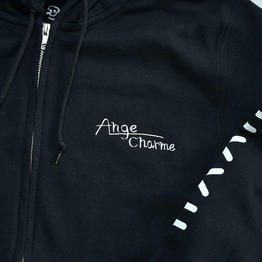 [セット(大人)]オリジナルロゴジップアップパーカー×アニマルロゴTシャツ 4