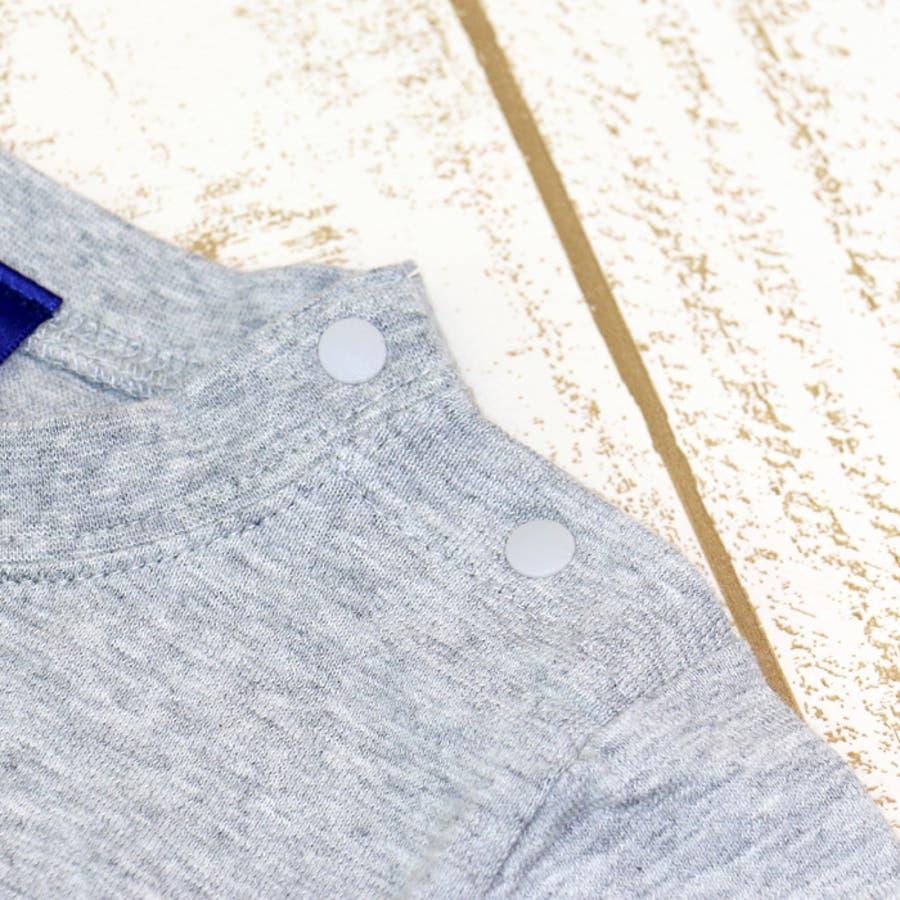 ベビー 赤ちゃん 子供服 ベビー服 チャンピオン 長袖 Tシャツ スラブ天竺 シンプル 刺繍ロゴ 男の子【トップス】champion出産祝い ギフト 17春 80 90 95 100cm 6