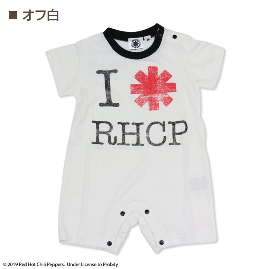 c09f8c100950b ベビー キッズ 子供服 ベビー服 RED HOT CHILI PEPPERS レッチリ 半袖 ...