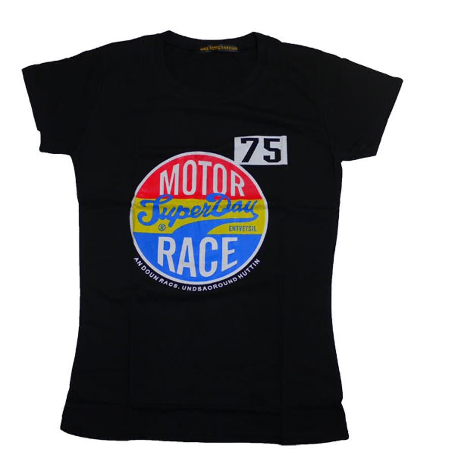 すごく良い商品です! プリントTシャツレディースカットソー半そでシャツ    夏 定番 英字 プリント Tシャツ ブラック Tシャツ デニムに合う    002 番外