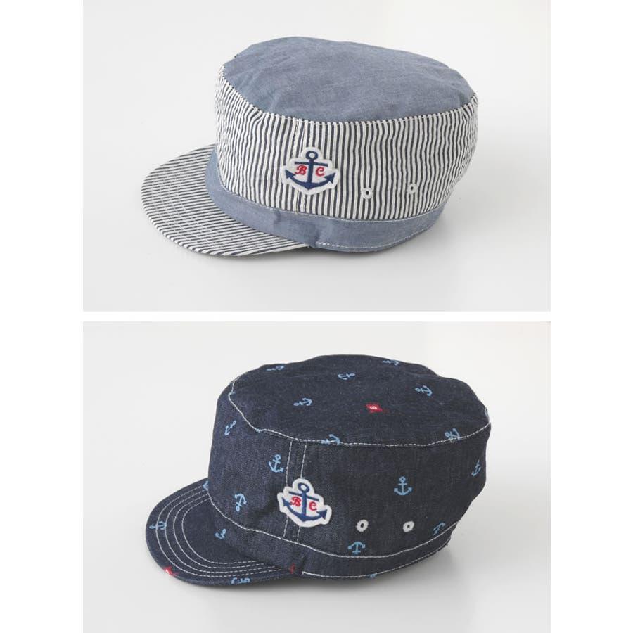 *ボンシュシュ*マリンキャップ帽子赤ちゃん ベビー 帽子 キャップ ハット春夏 ギフト チャックルベビー 6