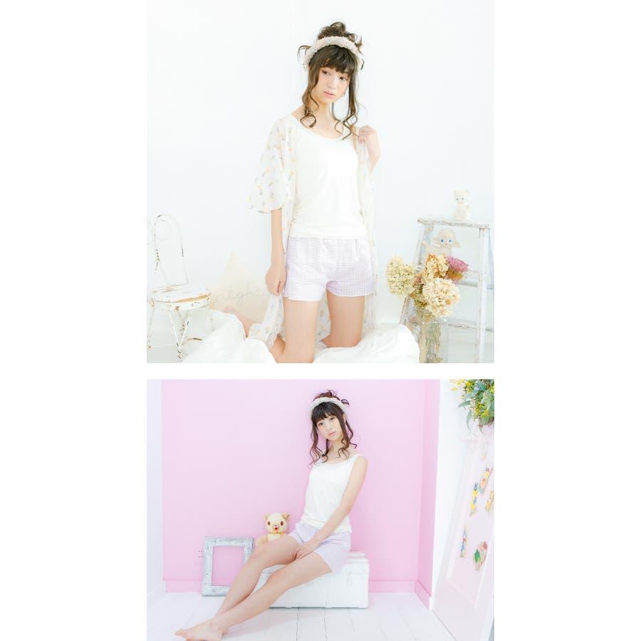 【日本製】Yuruneru KITENAI トランクス レディース 女性用 パンツ ショーツ 一分丈ショーツ 一分丈 1分丈ボックスショーツ おやすみパンツ タップパンツ 日本製 締め付けない ガーゼ 綿100% コットン100% ゆるねる M L LLU423 5