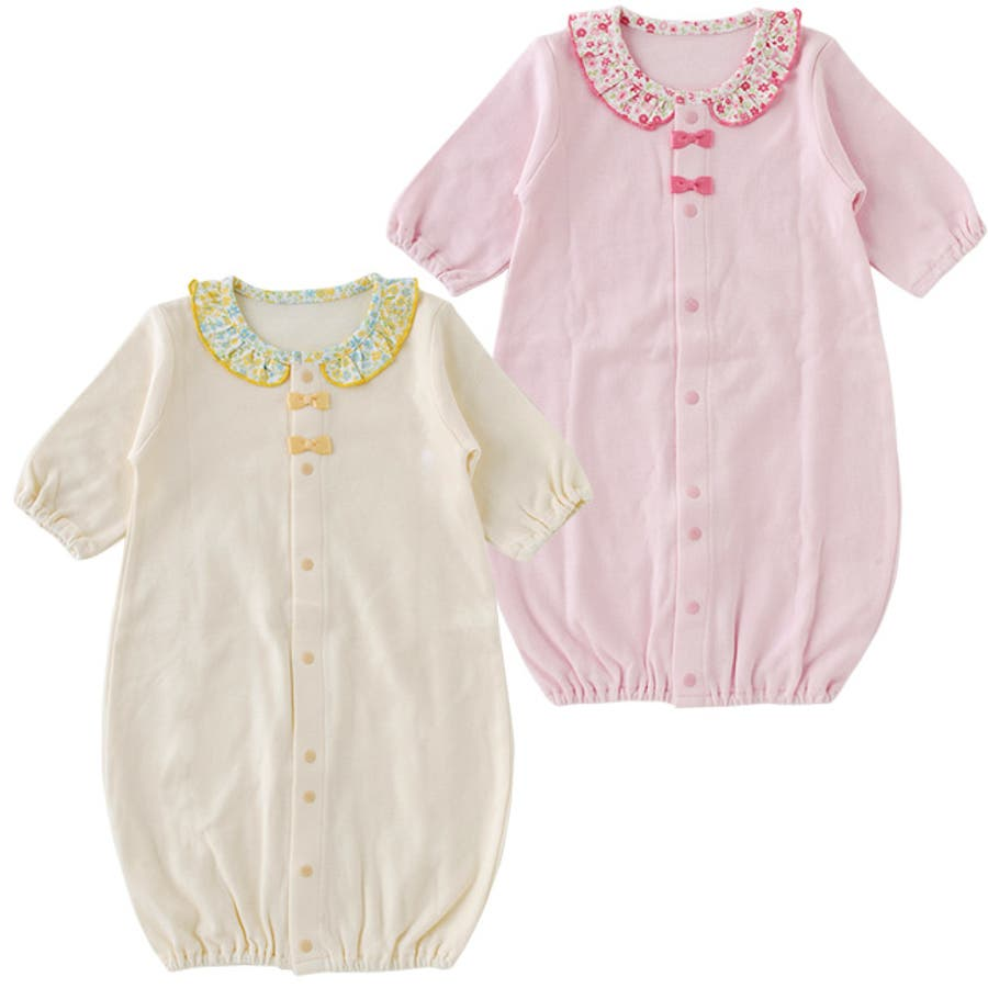 4793259779ec5 新生児ベビー服女の子カバーオールツーウェイオール春夏秋冬出産祝いギフトベビー服赤ちゃんドレス兼用