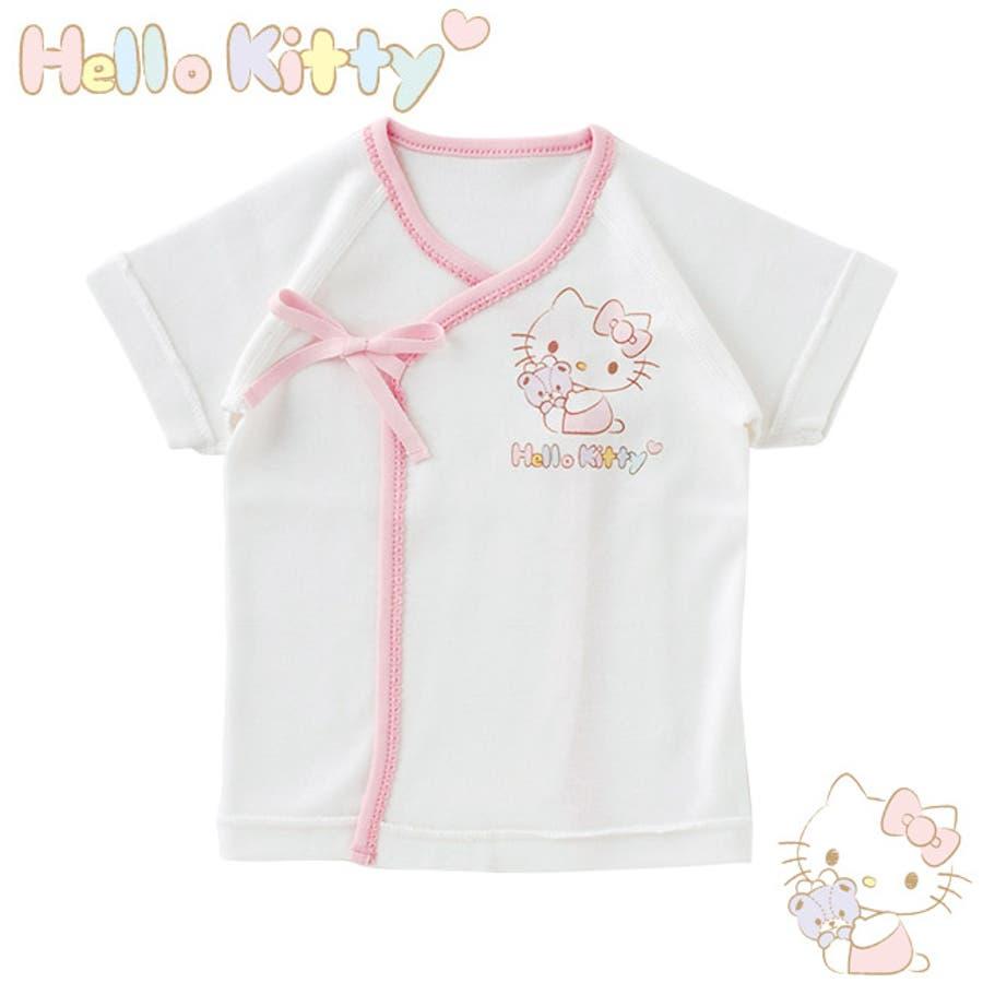 d7adc02805710 ハローキティ 新生児 肌着 短肌着 女の子 ベビー服 ベビー 服 キティちゃん 出産祝い ギフト 赤ちゃん